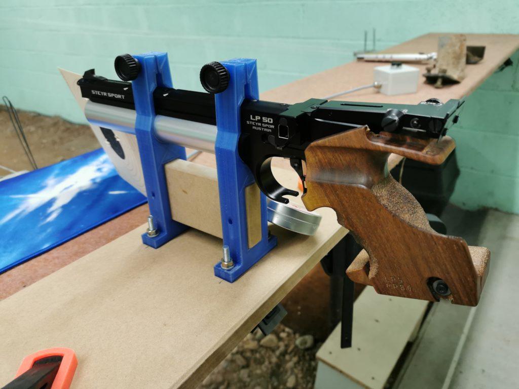 support pistolet STEYR LP50 / LP10