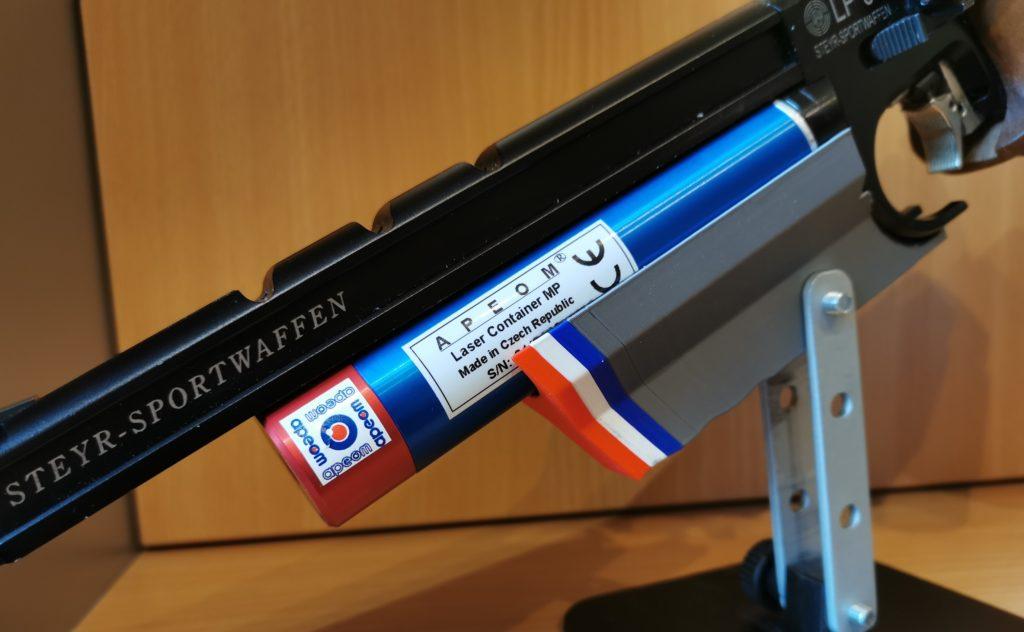 montage grand laser