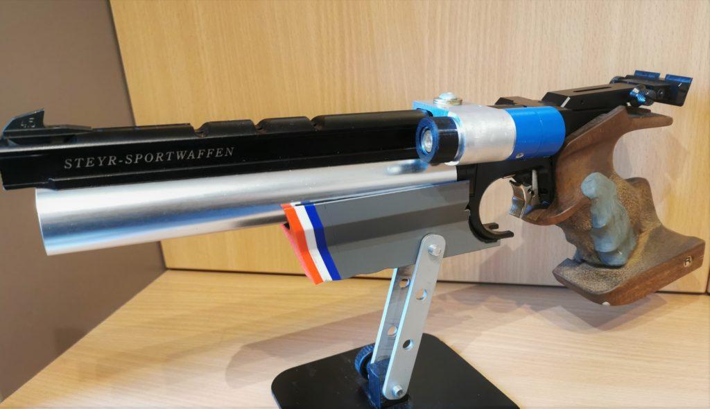 montage mini laser